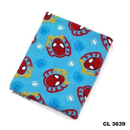 *903639* Lycra Knit: Spiderman (170cm)