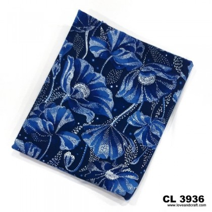 *903696* Lycra Knit: Flower