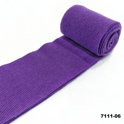 *7111* Binding Tape Rib 1x1 / Interlock For Neck Line, Sleeve Line, Cuff, Etc