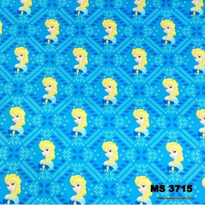 *903715* Milk Silk: Frozen Elsa With Abstract (160cm)