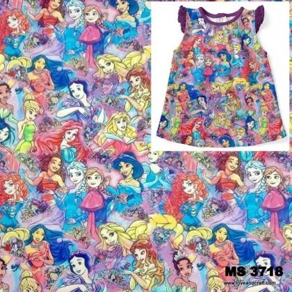 *903718* Milk Silk: Disney Princess (160cm)