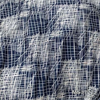 *903722* Milk Silk: Messy Lines (160cm)