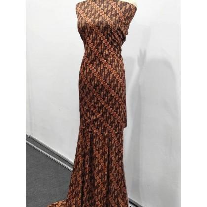 *903730* Milk Silk: Batik Parang (160cm)