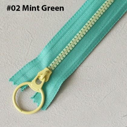 Plastic Zip Double Tone 20cm 30cm 40cm