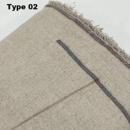Unbeach Cotton Linen Fabric / Jute Fabric / Gift Bag DIY Craft / Handmade