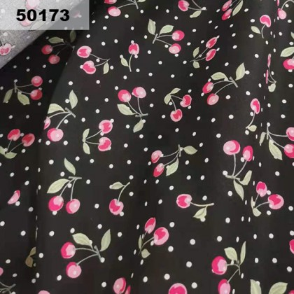 Cotton: Cherry With Polkadot (50173)