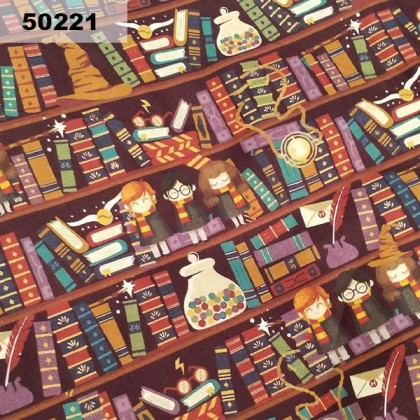 Cotton: Harry Potter Library (50221)