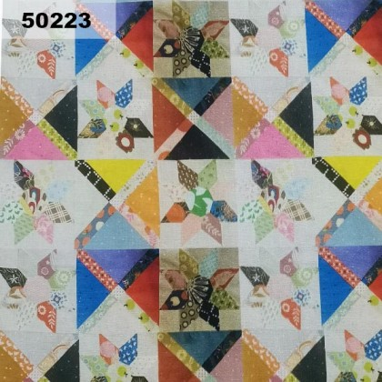 Cotton: Japanese Flower Patches (50223)