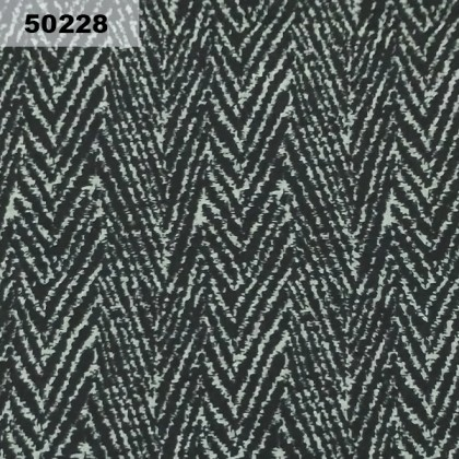 Cotton: Black Abstract (50228)