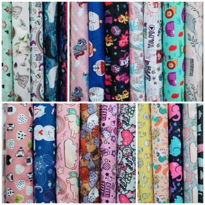 Poly Digital Print Fabric Surface Water Resistant