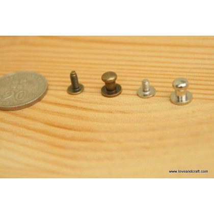 *T00127* Ball joint - Silver/Bronze