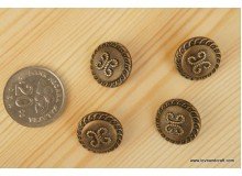 *B203-* Vintage butterfly button 1.8cm