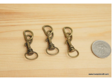 *T00219* Snap hook+D-ring set (1.3cm/2sets)