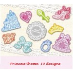 *Z00113* Sticker: Princess theme