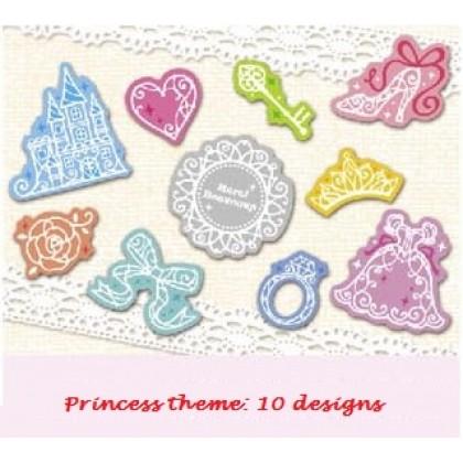*Z00113* Sticker: Princess theme