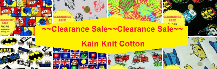 Knit Fabric Clearance